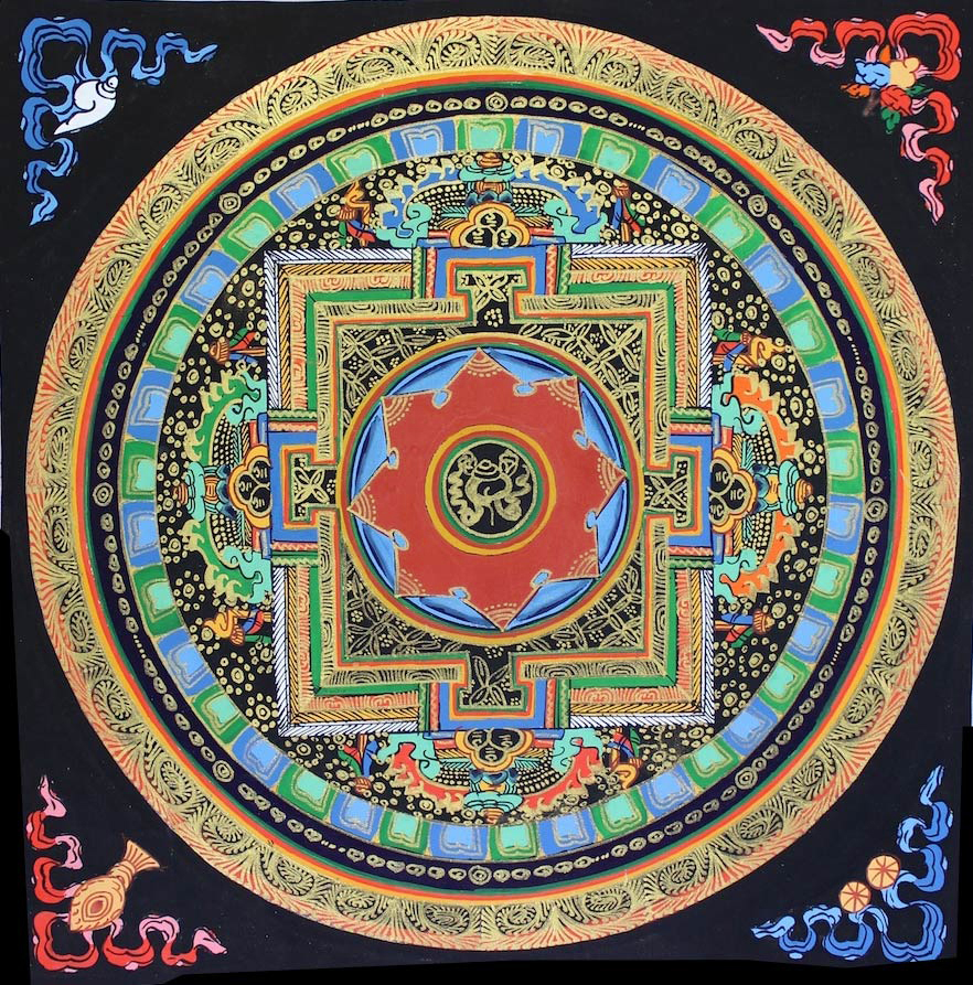 tibetan-haindpainted-mandala